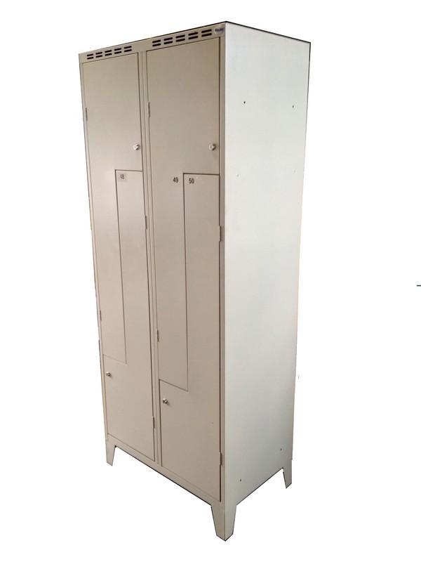 używane szafki pracownicze